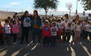Los Colegios Miguel Hernández y San Francisco participan en la II Carrera Solidaria Contra la Leucemia Infantil