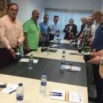 La Ejecutiva del Consorcio Nacional de los Pueblos del Tambor y el Bombo se reunió el sábado en Jumilla