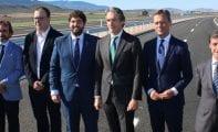 La autovía Jumilla-Yecla ya está abierta al tráfico tras ser inaugurada por el ministro de Fomento