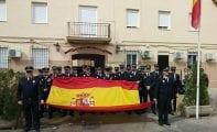 La Policía Local se solidarizó con la Guardia Civil en la celebración de los Ángeles Custodios