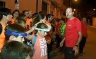 Más de ciento cincuenta personas participaron en la II Ruta Nocturna Solidaria del Costado