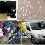 Desarticulan 3 grupos que habían cometido más de ochenta robos en naves y viviendas, uno de ellos asentado en Jumilla