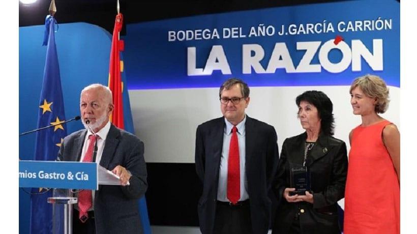 García Carrión elegida Bodega del Año 2017