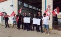 El 100% de trabajadores de la ITV de Jumilla secundó ayer la huelga