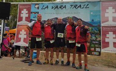 """El equipo jumillano de Trail Running """"Flato's Worms"""" comenzó su temporada en Caravaca"""