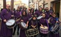 Medio centenar de tamborileros jumillanos participaron en VACAMBOR 2017