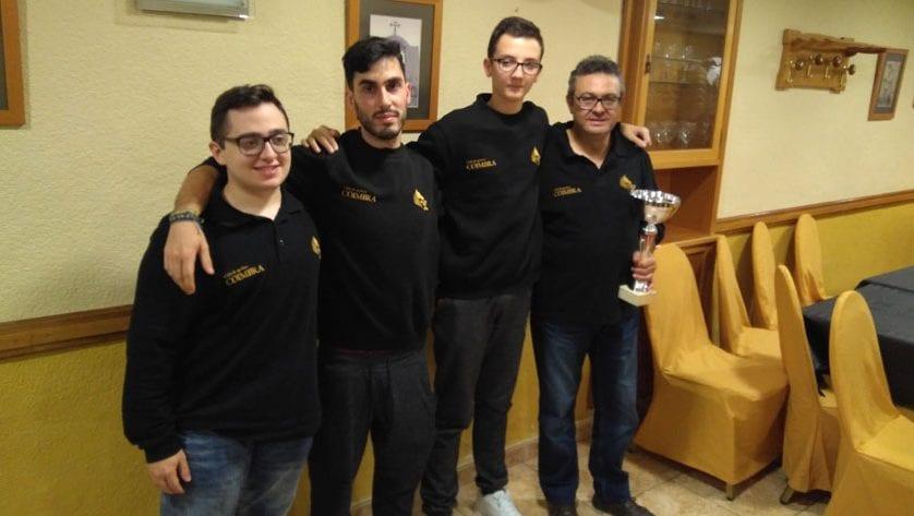 Coimbra Jumilla se proclama Campeón en el Sub-1600 de Mutxamel