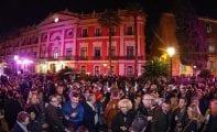 Más de cinco mil personas pasaron por la Feria del Vino de Jumilla en Murcia que tuvo lugar en la Glorieta de España