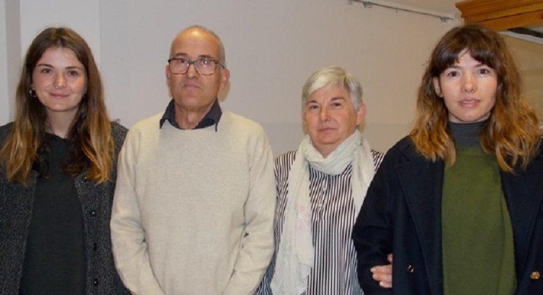 Inaugurada la exposición de Sebastián Martínez sobre 'Gasterópodos'
