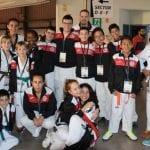 Dos medallas para los taekwondistas jumillanos en el I Open Internacional D. Quijote