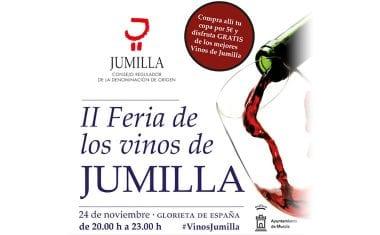 Este viernes Murcia acoge la II Feria de los Vinos de la DOP Jumilla