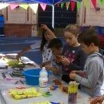 Tanto niños como mayores disfrutaron con el Festival de Juegos y Talleres 'Jumilla Medieval'