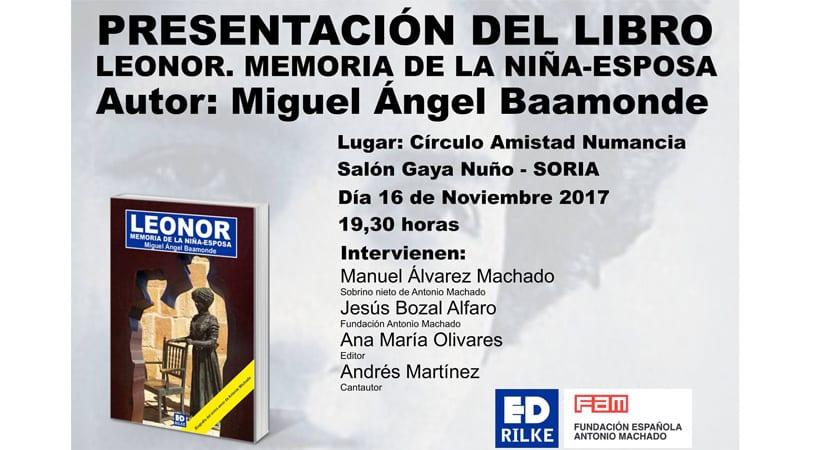 Andrés Martínez participará en Soria en la presentación de un libro sobre Antonio Machado