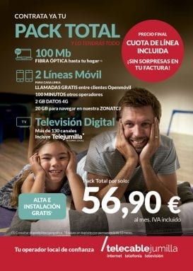Pack Total Telecable Jumilla