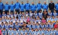 La Escuela Municipal de Fútbol Base presenta a sus once equipos