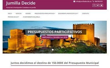 Han comenzado las votaciones online para los Presupuestos Participativos 2018