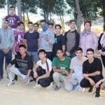 El Ayuntamiento reforma la zona de 'street workout' del Jardín Botánico de La Estacada