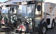 El Ayuntamiento adquiere dos nuevas máquinas barredoras para la concejalía de Servicios