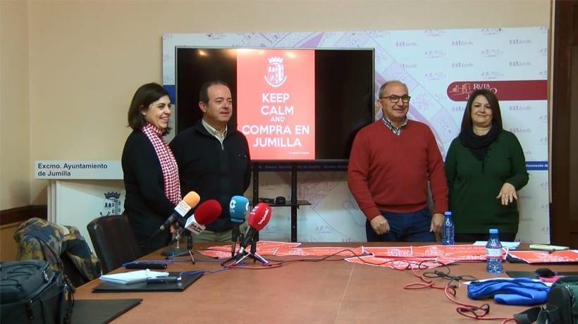 'Keep Calm and Compra en Jumilla' pretende fomentar las compras en el comercio local