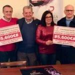 El Consejo Regulador de los Vinos de Jumilla dona 11.200 euros a Cáritas Jumilla y Albacete para financiar proyectos sociales