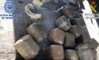 Desarticulada una banda internacional de tráfico de hachís con base en la Región