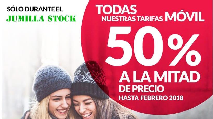 Telecable Jumilla ofrecerá interesantes promociones en la Feria Jumilla Stock