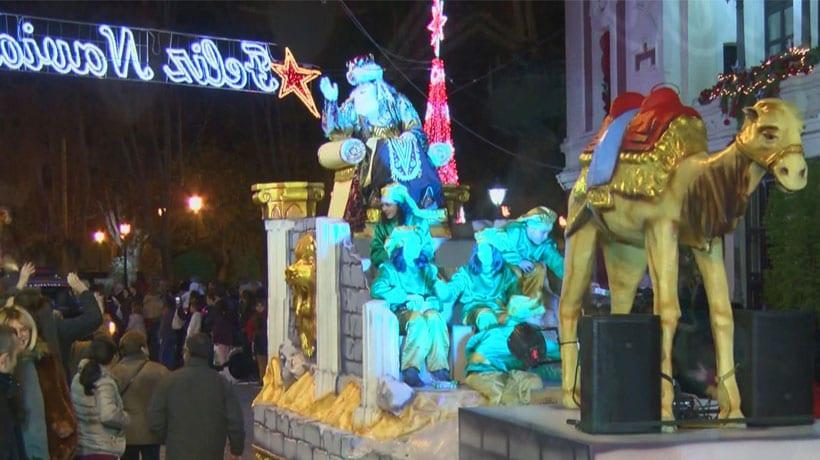 La Cabalgata de los Magos de Oriente puso el broche a las Navidades