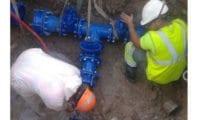 Aguas de Jumilla intenta reparar lo antes posible la avería general que ha provocado que no haya agua corriente en todo el casco urbano