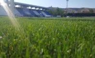 """El campo de fútbol de césped natural del Polideportivo Municipal La Hoya se denominará """"Uva Monastrell"""""""