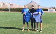 Pedro Inglés y Jaume Valens ya están entrenando con el FC Jumilla