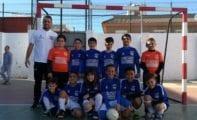 Jornada de convivencia en La Unión para la Escuela de Fútbol Sala Carchelo