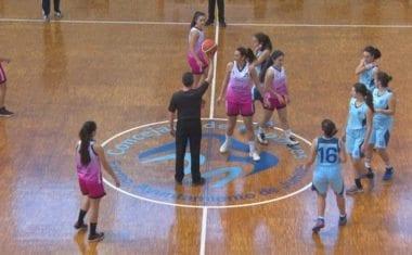 Derrota de las chicas junior de baloncesto ante Maristas de Cartagena