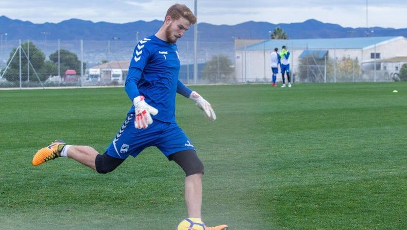 El guardameta Jaume Valens llega cedido al FC Jumilla