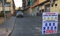 Comienzan las obras de renovación de servicios e infraestructuras de las calles Valencia y Goya