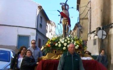 Los vecinos de Calvario festejaron a San Sebastián