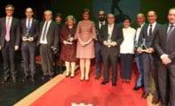 Ayer se entregaron en el Teatro Vico los Premios Hypnos, máximos galardones institucionales que concede el Ayuntamiento de Jumilla