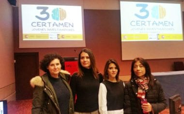 Isabel Marín y María Jesús Jiménez del IES Infanta Elena ganan el segundo y tercer premio del XXX Certamen de Jovenes Investigadores