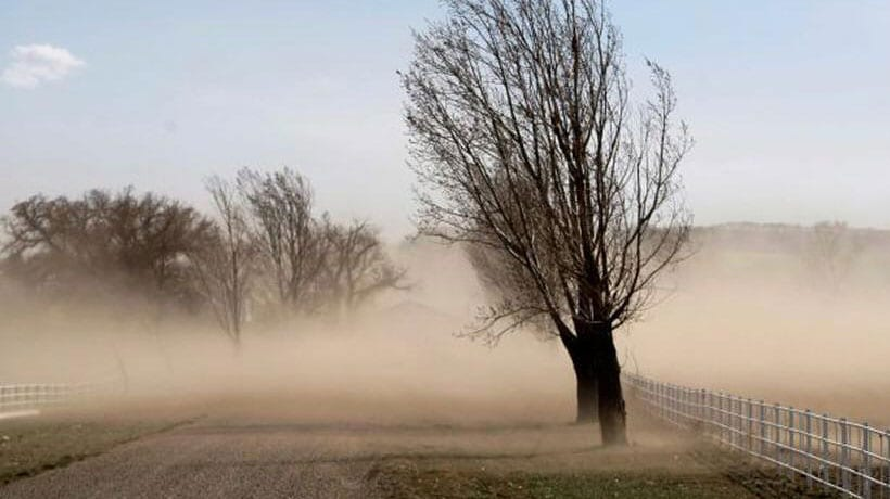Meteorología advierte de rachas de viento de hasta 70 km/h