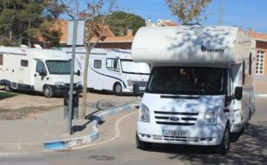 Benito Santos propone que se cree en Jumilla un Área para Autocaravanas