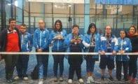 Un oro y dos cuartos puestos para Aspajunide en el Campeonato de España de Pádel