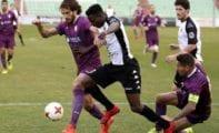 Derrota del FC Jumilla en Mérida con un gol anulado