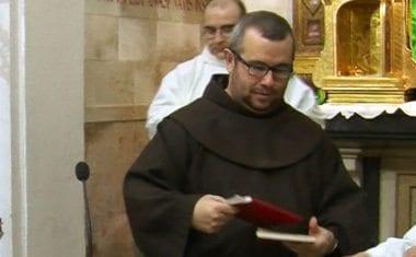 Un hermano franciscano será nombrado Diácono el sábado en el Monasterio de Santa Ana