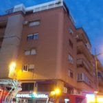 Incendio en un piso del edificio 'Lavin' al producirse un cortocircuito
