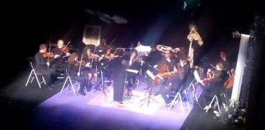 Breve pero emotivo concierto de la Orquesta del Conservatorio Profesional de Música Julián Santos