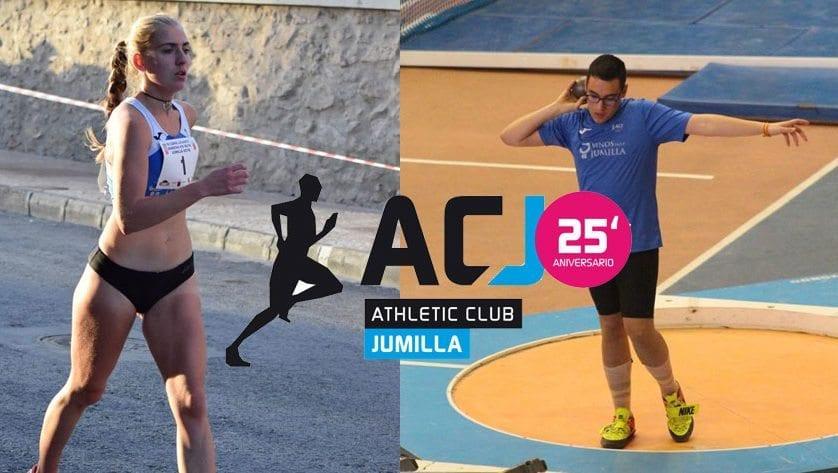 Dos atletas del Athletic Club Vinos DOP Jumilla estarán presentes en sendos Campeonatos de España