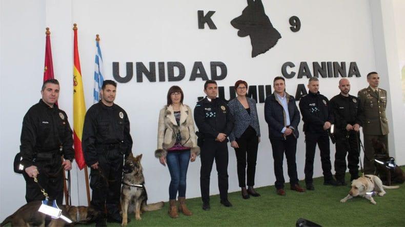 unidad-canina-autoridades-jumilla