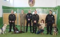 Presentada la Unidad Canina de la Policía Local de Jumilla