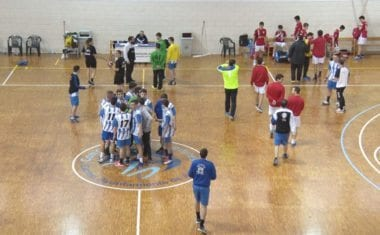 Victoria holgada de los juveniles de balonmano ante Murcia Ademur