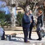 Tras las obras que acaban de comenzar cambiará totalmente el jardín de la Plaza de San Juan
