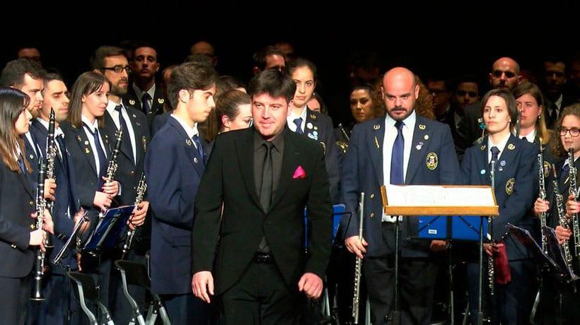 Concierto de Lunes Santo de la Banda de Música de la AJAM
